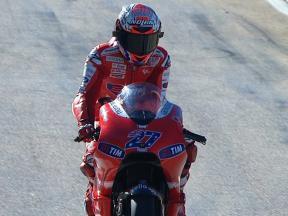 Valencia 2010 - MotoGP - QP - Highlights