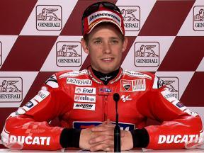 Valencia 2010 - MotoGP - QP - Interview - Casey Stoner