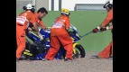 Valencia 2010 - Moto2 - QP - Action - Raffaele de Rosa - Crash