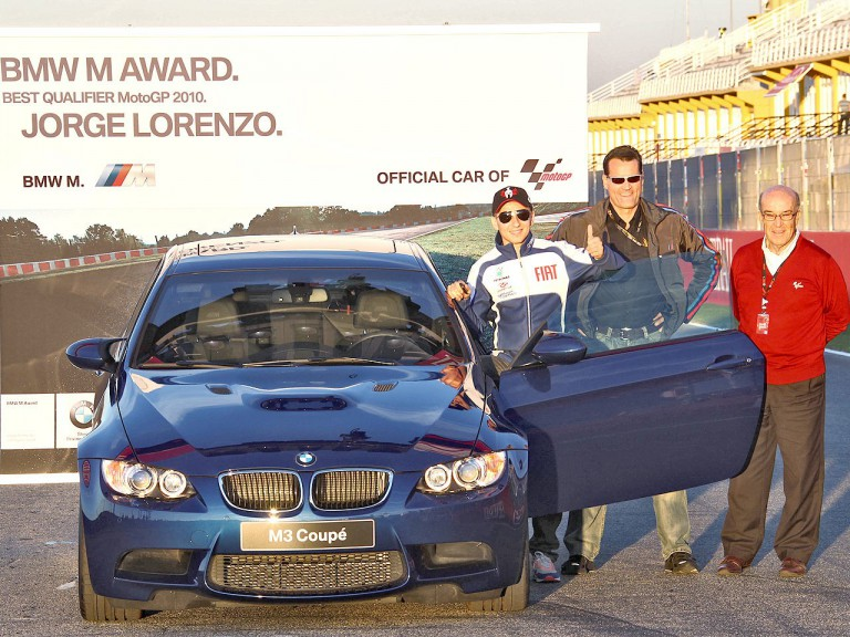 BMW Award: Lorenzo best Qualifier MotoGP 2010