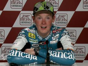 Valencia 2010 - 125cc - Race - Interview - Bradley Smith