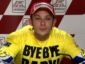 Valencia 2010 - MotoGP - Race - Interview - Valention Rossi