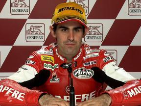 Valencia 2010 - Moto2 - Race - Interview - Julian Simon