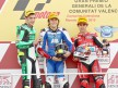 Iannone, Abraham and Simón on the podium in Valencia