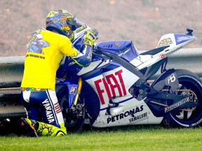 Rossi bids his M1 farewell