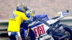 Rossi bids his M1 farewell