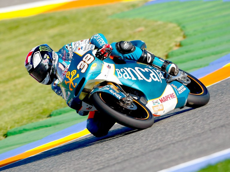 Bradley Smith in action in Valencia