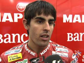 Valencia Test  2010 - Day one - Moto2 - Interview - Julián Simon