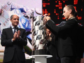 Lorenzo at the 2010 FIM Awards ceremony
