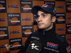 Pedrosa pacey in Test despite lingering shoulder pain