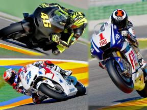Valencia Test 2010 - MotoGP Highlights - Day One