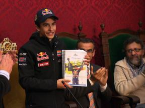 Marc Márquez welcomed home to Cervera as 125cc World Champion