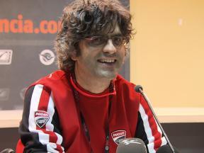 Filippo Preziosi Press Conference Valencia Test