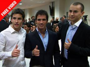 Spanish MotoGP Stars attend the Spanish Sport Council Gala in Madrid