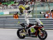 Toni Elias in action at Sepang