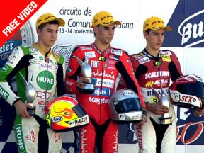 2010 - CEV Buckler - Round 6 - Valencia Highlights - 125cc