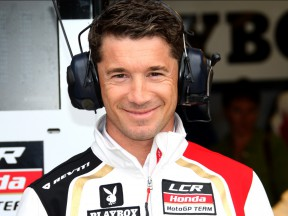 The Team Manager of LCR Honda Lucio Cecchinello