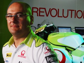 The Pramac Racing Team Technical Director Fabiano Sterlacchini