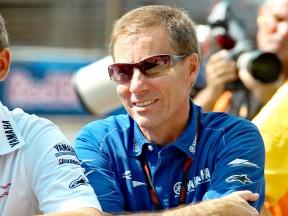 The Yamaha Racing Managing Director Lin Jarvis