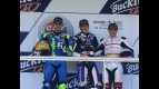 Jordi Torres, Axel Pons and Roman Ramos on the podium at the Jerez CEV