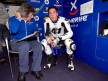 Aleix Espargaró in the Tenerife 40 Pons garage