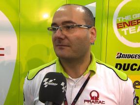 Fabiano Sterlacchini on Pramac's campaign
