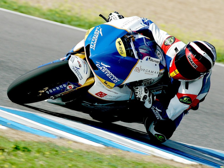 Coghlan Kev in action at Jerez test