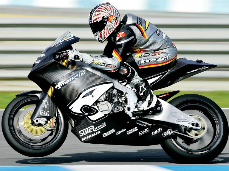 Damian Cudlin in action at Jerez test