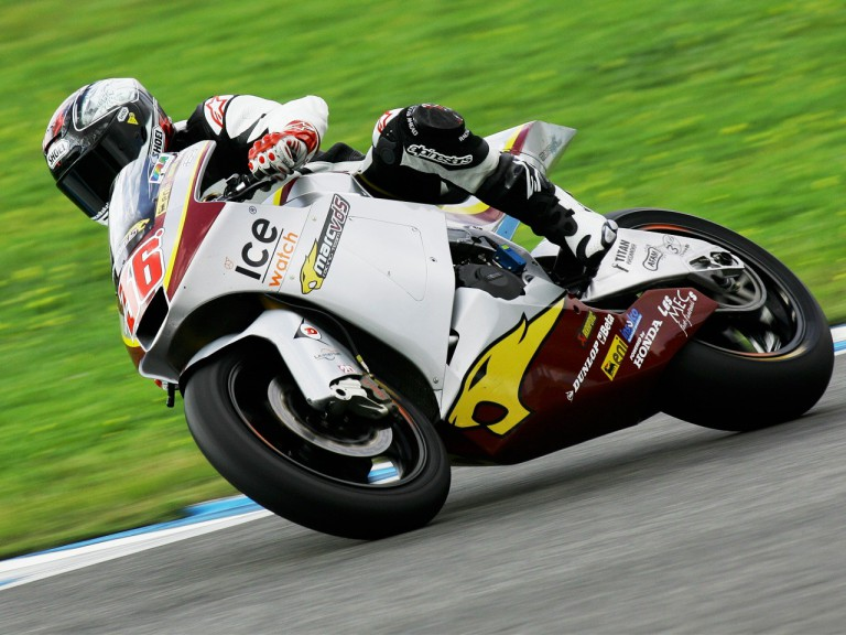 Mika Kallio in action in the test of Jerez
