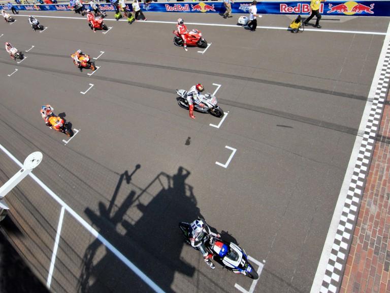 MotoGP starting grid