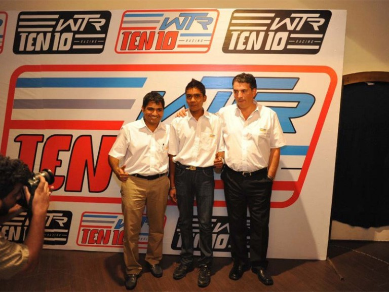 WTR Team confirms Sarath Kumar for 2011