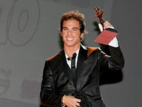 Toni Elías Caschi D'oro ceremony