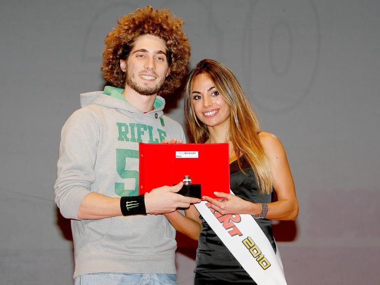 Marco Simoncelli Caschi D'oro ceremony