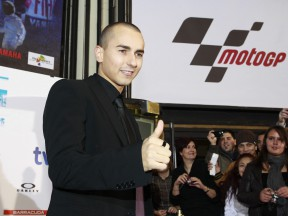 Lorenzo at the premiere of the 'Jorge' documentary in Madrid