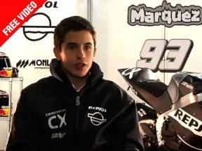 Marc Márquez analyzes his first steps in Moto2