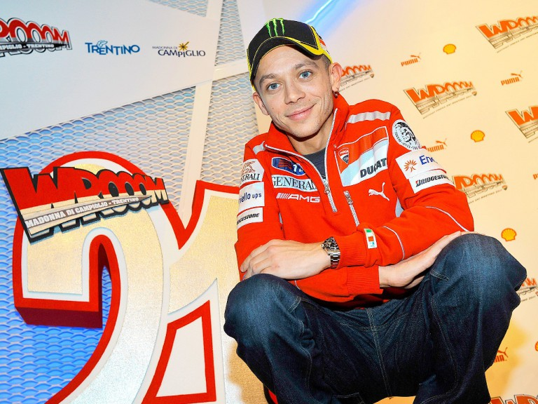 Valentino Rossi at Wrooom 2011