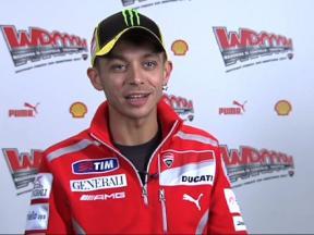 Valentino Rossi's first Ducati impressions