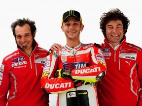Vittoriano Guareschi, Valentino Rossi and Alessandro Cicognani