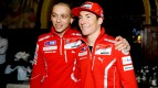 Ducati Team 2011 riders Valentino Rossi and Nicky Hayden