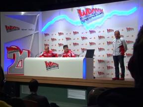 Ducati Management press conference excerpts