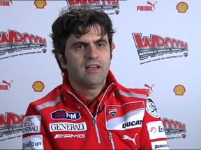 Ducati Corse Director Filippo Preziosi talks 2011 Desmo