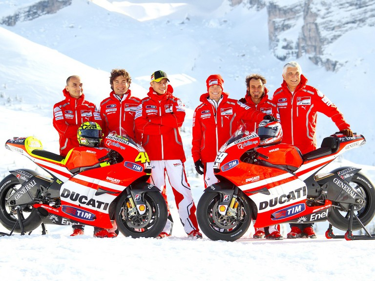Ducati Team unveils 2011 livery