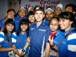 MotoGP World Champion Jorge Lorenzo in Indonesia