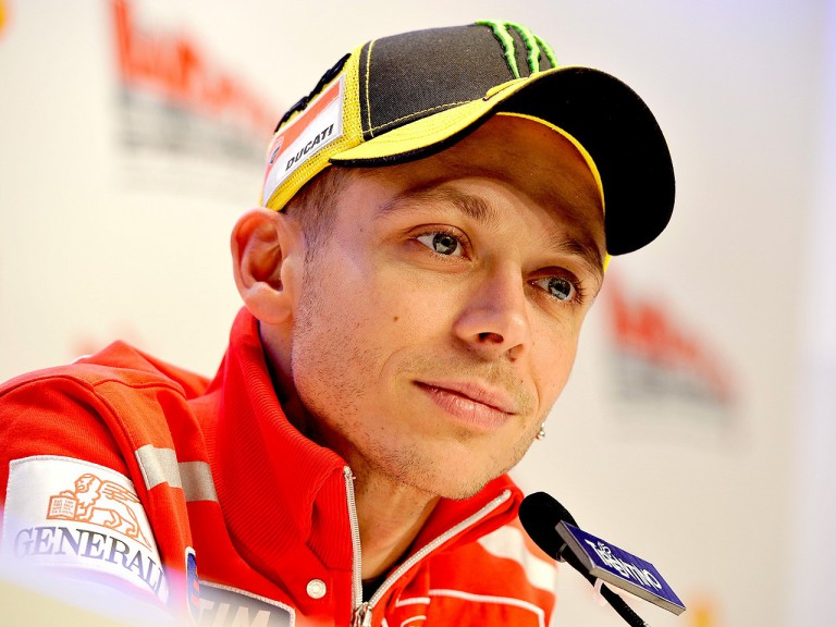 Valentino Rossi at the Wrooom 2011 press conference