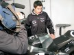 Marc Márquez reviews his new Moto2
