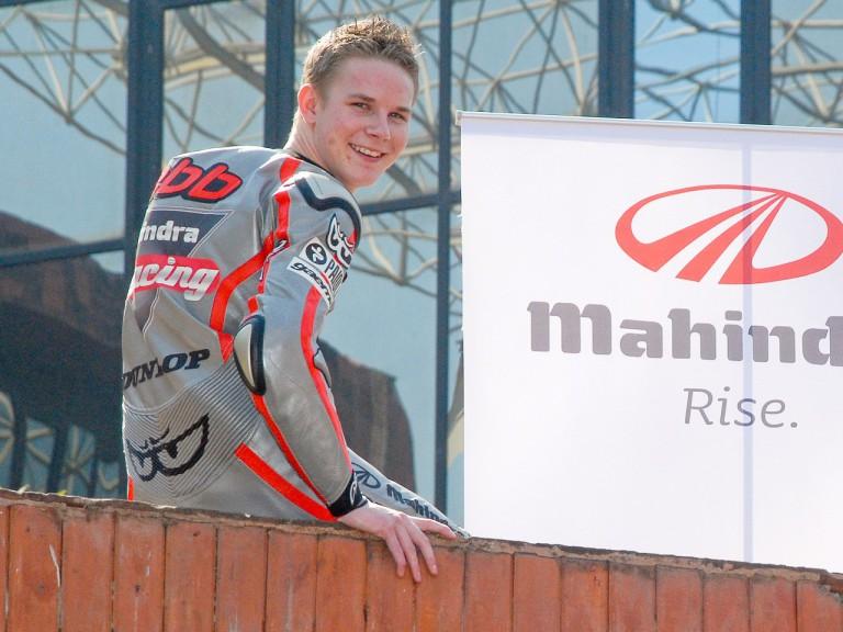 Mahindra Racing rider Danny Webb