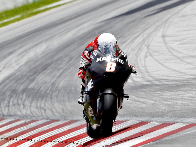 Barberá during Sepang Test Day 2