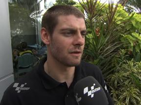Crutchlow takes plenty out of first 2011 run
