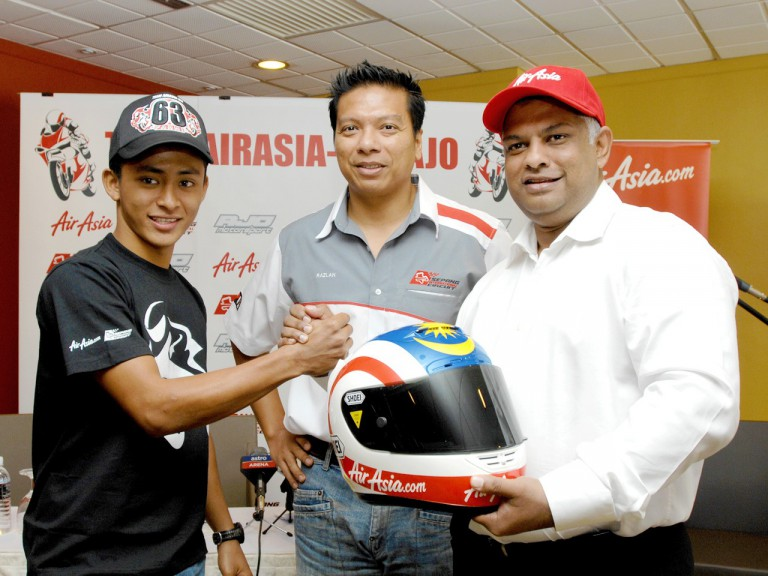 Muhammad Zulfahmi for 2011 with Ajo Motosport