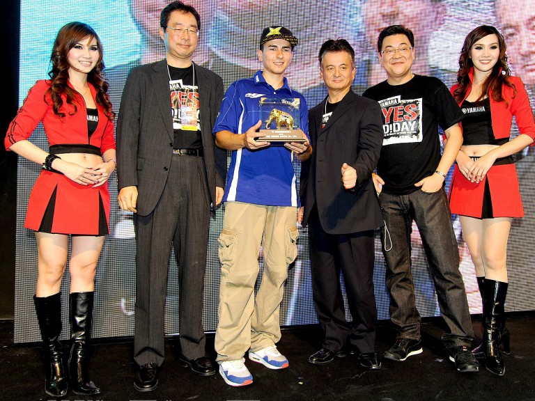 Lorenzo visits Thailand to meets fans